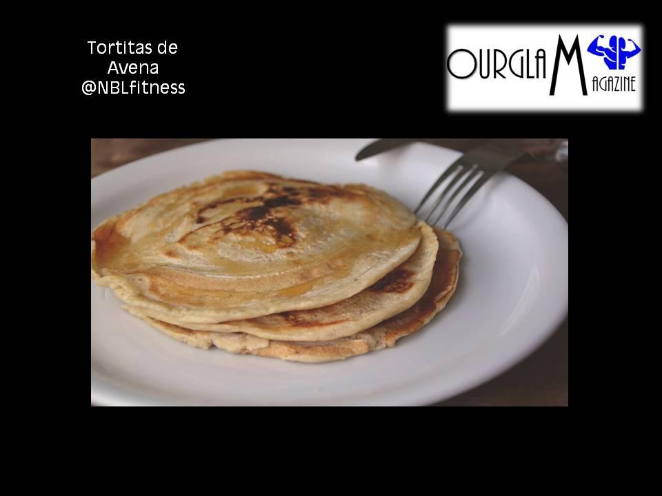 Tortitas de Avena @ourglammagazine @nblfitness