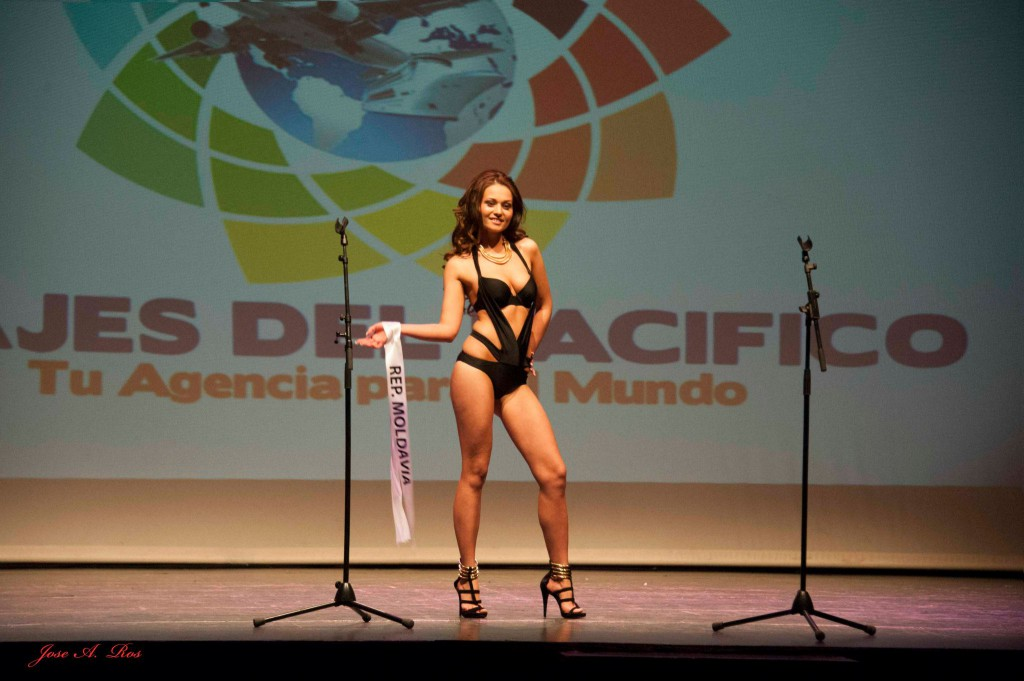 Ana Talpes de MOLDAVIa obtuvo el segundo lugar