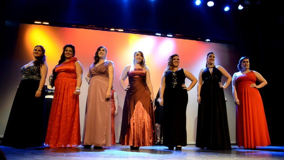 Finalistas: Sara Anguita, Vanesa Sanchez, Elena Jurado, Anais Cuadrado, Myriam Eloy, María Córdoba, Yamila Orozco.
