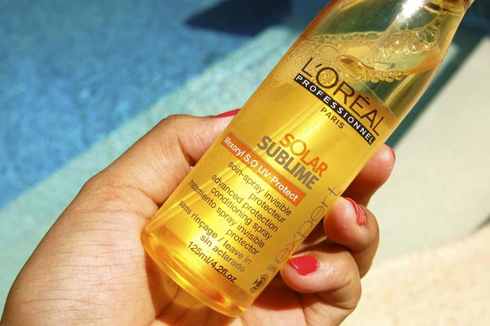 spray solar sublime loreal professionnel