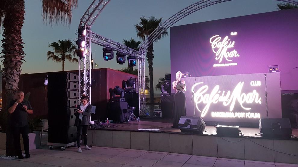 Escenario en el que veremos actuaciones artísticas y DJ internacionales cada día.